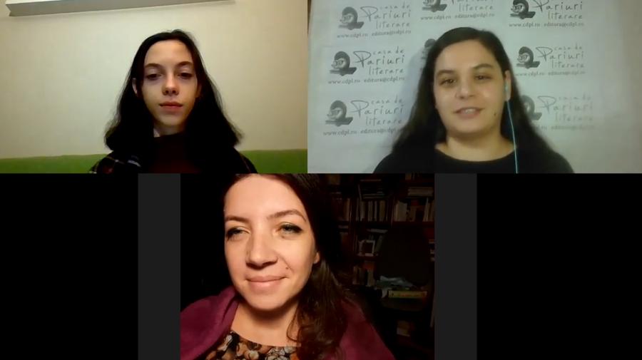 Lansarea volumului Izolare forțată (Irina-Roxana Georgescu și Petra Torsan)