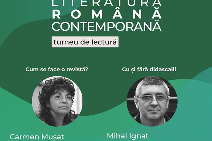 Carmen Mușat și Mihai Ignat la Teatrul APROPO