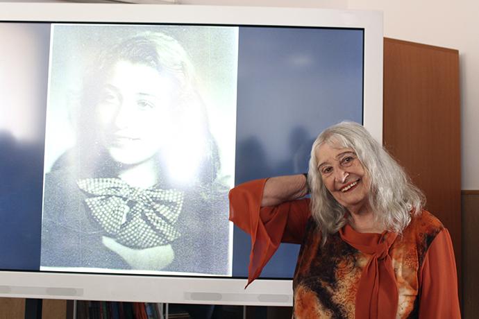 Nora Iuga și Oana Cătălina Ninu: lectura de vineri  în fotografii