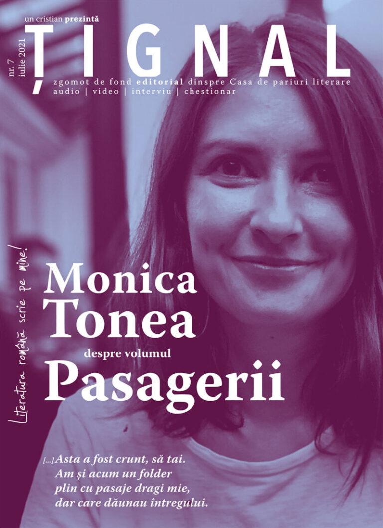Țignal #7 – Monica Tonea